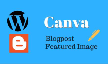 Membuat Featured Image dengan Canva