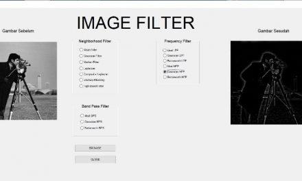 Pembuatan Simulasi Efek Fiter Pada Citra Digital