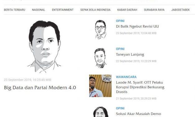 Big Data dan Partai Modern 4.0