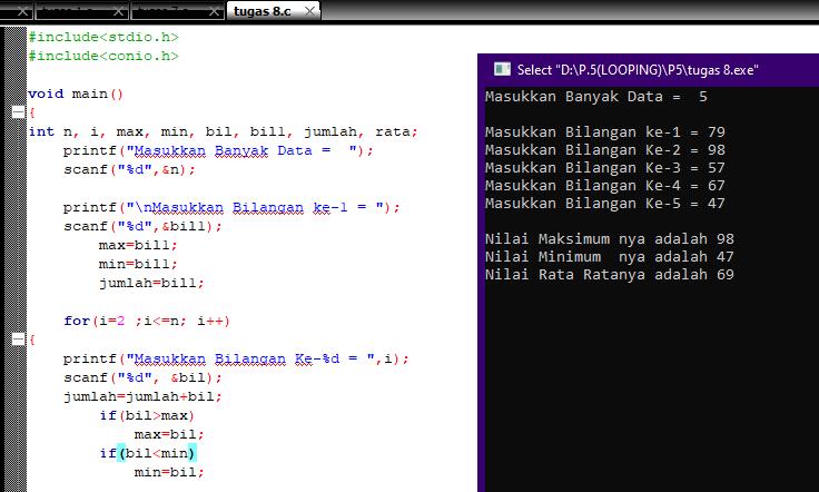 Membuat Algoritma Pseudocode Hasil Table Perkalian 5 5 aryasce p58