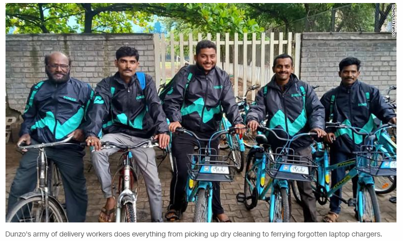 'Just Dunzo it.' How Google's favorite Indian startup is making city life easier
