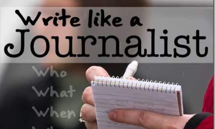 How To Write Like A Journalist