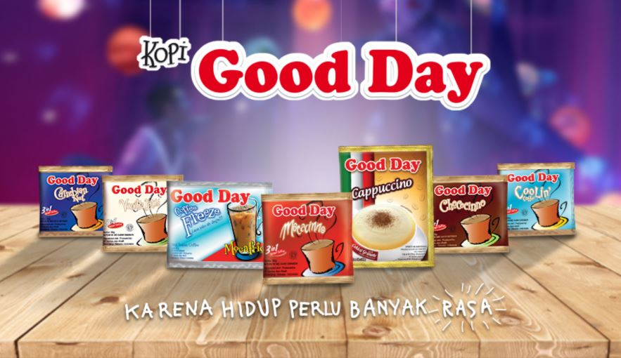 Contoh iklan produk Good Day