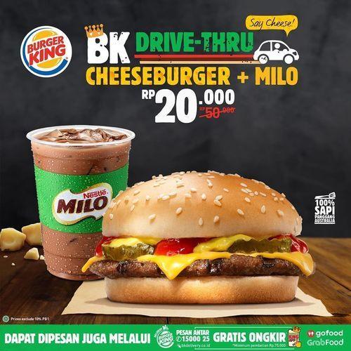 Contoh iklan produk Burger King Drive-Thru | Jakarta Selatan