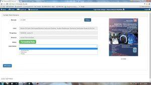 Proses entry buku dengan memasukkan nomor induk ke dalam aplikasi