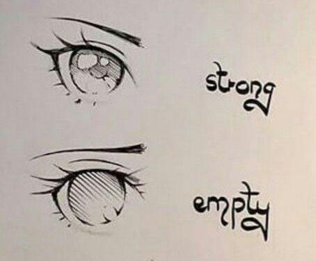 Inspirasi Cara Menggambar Mata Anime Ekspresi Wajah Sedih, Marah, Kuat, dan Bengong