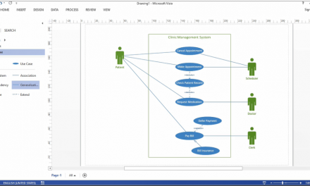 How to Create Use Case Diagram in Visio 2013 – English Podcast – Zakia Hafzhy Islami