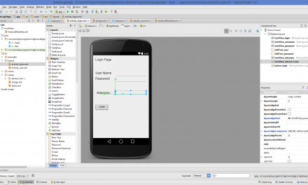 How to Create Login Screen With Android Studio – English Podcast – Mega Trisna Wulandari