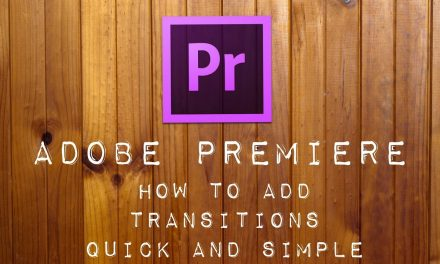 How to add Transision on adobe premiere pro – Dea Niar Misdayuni