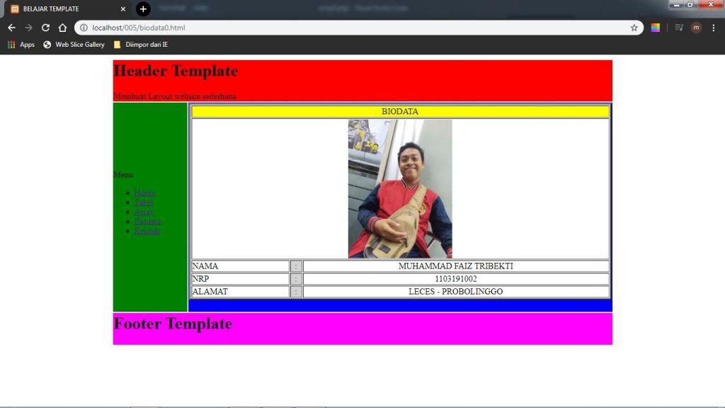 Description: C:\Users\roviqo\Pictures\VSC\LAYOUT WEBSITE SEDERHANA\hasil biodata.jpg