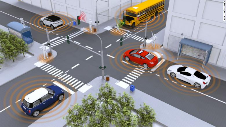New concept of smart sensor systems that will anticipate and avoid danger.