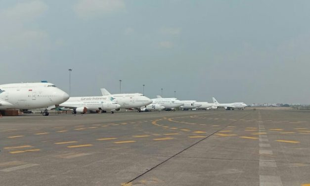 Mau lihat banyak pesawat ? Yuk kenalan sama Si Burung Besi di PT GMF AeroAsia Tbk !