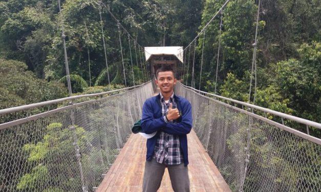 Menikmati Alam Sekaligus Uji Nyali di Jembatan Gantung Situ Gunung, Sukabumi