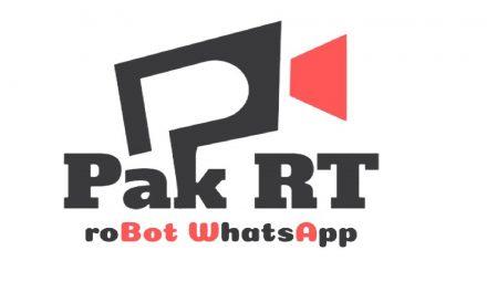 Robot WhatsApp Pak RT, Serasa Punya Banyak Aplikasi