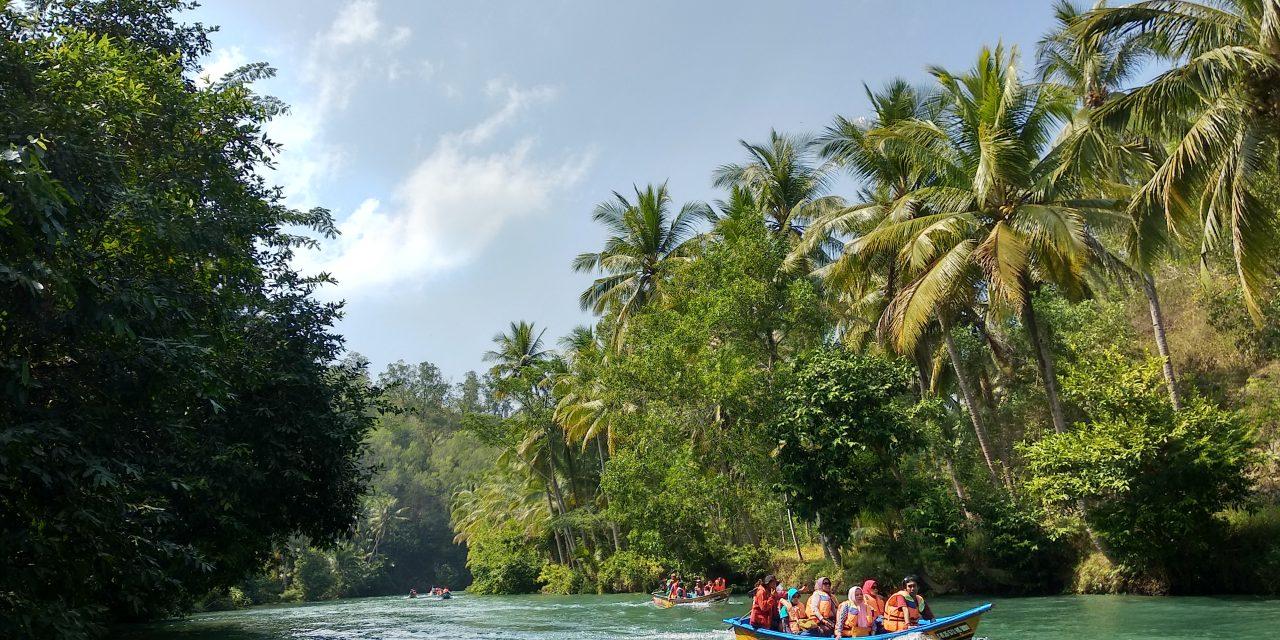 Menyusuri Sungai Maron Pacitan, Sungai Amazon Ala Jawa Timur